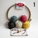 Punch needle készlet, Fonal, cérna, Szerszámok, eszközök, Hímzés, Mindenmás, A csomag mindent tartalmaz ahhoz, hogy az Oxford Punch Needle használatával egy képet tudj készíten..., Alkotók boltja