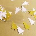Karácsonyi konfetti..., Dekorációs kellékek, Papír, Mindenmás, Karácsonyi konfetti.... A karácsonyi asztal, meghívók, fotóalbumok díszítésére... Mérete: 5*3.5cm A..., Alkotók boltja