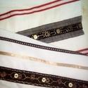 Nyári vászon, különleges mintával, Textil, Mindenmás, Nagyon különleges mintája van ennek az alapjában véve fehér nyári könnyű anyagnak.   Hosszában, sza..., Alkotók boltja