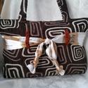 Nőies táska... természetre hangolódva, Táska, Válltáska, oldaltáska, Varrás, Horgolás,  E vintage életérzéshez táskámat a melegebb napok fényekkel és színekkel teli hangulatához készítet..., Meska