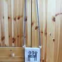 'FEJEDELMI HAVASOK' bohém-hagyományos gyapjú kistarisznya fa gyöngyökkel díszítve, Táska, Divat & Szépség, Táska, Válltáska, oldaltáska, Tarisznya, Magyar motívumokkal, Szövés, Varrás, Bohém-hagyományos kistarisznya gyönyörű világos nyers és természetes (festetlen) szürkésbarna színű..., Meska