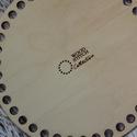 Kör 20 cm-es horgolható fa alap - Wood Stitch Collection, Fa, Rétegelt lemez, fa alap, Kötés, horgolás, Saját ötlet és fejlesztés alapján gyártott horgolható fa alap.  Festhető, lazúrozható, pácolható, a..., Alkotók boltja