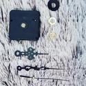óraszerkezet klasszikus mutatókkal - Wood Stitch Collection horgolható óralaphoz, Fa, Rétegelt lemez, fa alap, Kötés, horgolás, óraszerkezet klasszikus mutatókkal. Származási helye: EU 1 db ceruzaelemmel (AA) működik (nem tarto..., Alkotók boltja