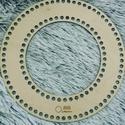 Kopogtató/koszorú alap - Kör 25 cm-es horgolható fa alap - Wood Stitch Collection, Fa, Rétegelt lemez, fa alap, Kötés, horgolás, Saját ötlet és fejlesztés alapján gyártott horgolható fa alap.  Festhető, lazúrozható, pácolható, a..., Alkotók boltja