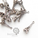 10 db Antikolt ezüst színű torony medál Nikkelmentes, Antikolt ezüst színű torony medál NIKKELMENTES...
