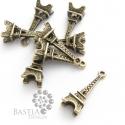 10 db Antikolt bronz színű torony medál (01054), Csinálj Ékszert Bastiával!  Antikolt bronz szí...
