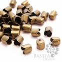 10 g Antikolt bronz színű tulipános záró elem Nikkelm. (01082), 10 g Antikolt bronz színű tulipános záró elem...