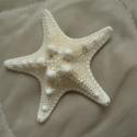 Starfish, Gyöngy, ékszerkellék, Egyéb alkatrész, Kb. 7 cm átmérőjű tengeri csillag. , Alkotók boltja