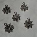 Pókháló medál, Pókháló tibeti ezüst színű medálok. Méret:...