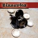 4db  bedugós fülbevaló alap + 4db üveglencse (12mm) / 3 színben, Gyöngy, ékszerkellék, Üveglencse, Alkotók boltja