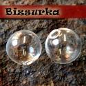 2db üveggömb 18 mm-s, Gyöngy, ékszerkellék, Üveg, Ékszerkészítés, Apró üveggömb Készíthetsz belőle medált, kulcstartót, fülbevalót.  Feltöltheted apró gyönggyel, fol..., Alkotók boltja