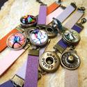 Bronz Noosa karkötő, 7 típus, fekete, Gyöngy, ékszerkellék, Cabochon, Alkotók boltja