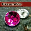18-as Noosa díszpatent, strassz / választható színben, Gyöngy, ékszerkellék, Alkotók boltja