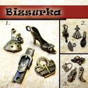 Antik bronz divat csomag ( 4db charm ) / 3-FÉLE, Antik bronz divat III.csomag tartalma: - 1 db kala...