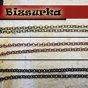Karika szemű lánc (4x4x1mm) , Gyöngy, ékszerkellék, Egyéb alkatrész, Választható színek: - Vörösréz - antik bronz  - fekete (gunmatal)   Ha a kosaradba rakod a terméket,..., Alkotók boltja