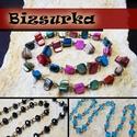 Gyöngyös lánc (40cm) / 3-féle, Gyöngy, ékszerkellék, Egyéb alkatrész, Választható: 1. Antik bronz lánc tengeri kagyló gyöngyökkel. gyöngyök mérete:  6~9 x 6~13 m..., Alkotók boltja