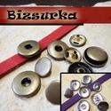 Noosa patentalap  5 pár  / 2 színben, Gyöngy, ékszerkellék, Noosa patentalap   választható színek: - Nikkel ezüst színű - bronz  Patentalap mérete: 18 mm..., Alkotók boltja