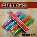 1 üvegcse színes dekorhomok / 15 színben, Gyöngy, ékszerkellék, Egyéb alkatrész, 1 üvegcse dekorhomok  választható színek: - Pezsgő - Sárga - narancs - korallpiros - grafit szürke -..., Alkotók boltja