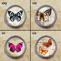1db Noosa díszpatent 109-120 / 12 típus, Gyöngy, ékszerkellék, Cabochon, Alkotók boltja
