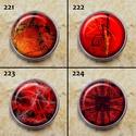 1db Noosa díszpatent 217-228 / 12 típus, Gyöngy, ékszerkellék, Egyéb alkatrész, Alkotók boltja