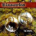 2db fűzhető üveggömb,gyöngy 16 mm-s, Gyöngy, ékszerkellék, Üveg, Ékszerkészítés, Fűzhető üveggömb,gyöngy Készíthetsz belőle medált, kulcstartót, fülbevalót.  Feltöltheted apró gyön..., Alkotók boltja