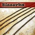 Bogyós lánc , Gyöngy, ékszerkellék, Egyéb alkatrész, Ékszerkészítés, Szerelékek, Bogyós lánc.  Választható színek: - Antik bronz  Láncszemek mérete: 1,5mm.  Az ár 1 m láncra vonatk..., Alkotók boltja