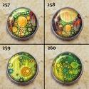 1db Noosa díszpatent 253-264 / 12 típus, Gyöngy, ékszerkellék, Egyéb alkatrész, Alkotók boltja