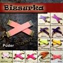 Velúr hatású műbőrszíj bronz szerelékkel / 12 színben, Gyöngy, ékszerkellék, Egyéb alkatrész, Ékszerkészítés, Bőrművesség, Szerelékek, Választható színek: - Púder - Babarózsa - Sötét-rózsaszín - pink - Levendula - Püspöklila - Sötétli..., Alkotók boltja