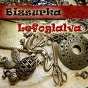 Egyéni csomag piffta89 részére, 1db Noosa medálos műbőrlánc, ezüst színű, b...