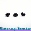 9 mm-es biztonsági orr fekete 3 db, Gomb, Szépen csillogó felületű, szemet gyönyörködtető biztonsági orrok mosás- és gyerekbiztos hátsó réssze..., Alkotók boltja