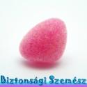 12 mm-es biztonsági bársonyos orr rózsaszín 1 db, Gomb, Különleges, bársonyos felületű, szemet gyönyörködtető biztonsági orr mosás- és gyerekbiztos hátsó ré..., Alkotók boltja
