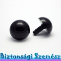 24 mm-es biztonsági szem fekete 2 db (1 pár), Gomb, Alkotók boltja