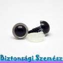 12 mm-es biztonsági szem szürke 2 db (1 pár), Gomb, Alkotók boltja