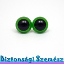 12 mm-es biztonsági szem zöld 2 db (1 pár), Gomb, Bábkészítés, mackóvarrás, Kötés, horgolás, Varrás, Szépen csillogó felületű, szemet gyönyörködtető biztonsági szemek mosás- és gyerekbiztos hátsó réss..., Alkotók boltja