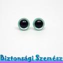 9 mm-es biztonsági szem metálzöld 2 db (1 pár), Gomb, Szépen csillogó felületű, szemet gyönyörködtető biztonsági szemek mosás- és gyerekbiztos hátsó réssz..., Alkotók boltja