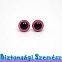 9 mm-es biztonsági szem rózsaszín 2 db (1 pár), Gomb, Bábkészítés, mackóvarrás, Kötés, horgolás, Varrás, Szépen csillogó felületű, szemet gyönyörködtető biztonsági szemek mosás- és gyerekbiztos hátsó réss..., Alkotók boltja