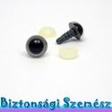 9 mm-es biztonsági szem szürke 2 db (1 pár), Gomb, Alkotók boltja