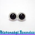 12 mm-es biztonsági szem fehér 2 db (1 pár), Gomb, Szépen csillogó felületű, szemet gyönyörködtető biztonsági szemek mosás- és gyerekbiztos hátsó réssz..., Alkotók boltja
