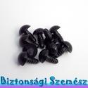 12 mm-es biztonsági szem fekete 10 db (5 pár), Gomb, Alkotók boltja