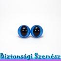 12 mm-es biztonsági macskaszem kék 2 db (1 pár), Gomb, Szépen csillogó felületű, szemet gyönyörködtető biztonsági macskaszemek mosás- és gyerekbiztos hátsó..., Alkotók boltja