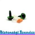 Macska készlet - 12 mm-es biztonsági macskaszem + 10 mm-es biztonsági macskaorr 2+1 db, Gomb, Alkotók boltja