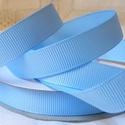 Topáz kék bordázott kétoldalas szatén szalag 13mm/20m, Textil, Szalag, pánt, Varrás, Szalag, Textil, Topáz kék bordázott 13mm-es kétoldalas szatén szalag, mely kiváló virágkötőknek, ajándék és meghívó..., Alkotók boltja