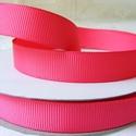 Rózsaszín bordázott kétoldalas szatén szalag 13mm/20m, Textil, Szalag, pánt, Varrás, Szalag, Textil, Rózsaszín bordázott 13mm-es kétoldalas szatén szalag, mely kiváló virágkötőknek, ajándék és meghívó..., Alkotók boltja