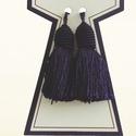 5 cm-es sötétkék bojt, 400 Ft / 2db, Dekorációs kellékek, Textil, Varrás, Textil, 5 cm-es bojt sötétkék, 400 Ft/2 db  Eladó bojt, dekoráció.   Szín:  sötétkék Anyag: 100 % műselyem ..., Alkotók boltja