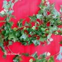borostyánlevél selyemvirág, Textil, Selyem, Mindenmás, Ez a borostyánlevél füzér 5 db, 45-80 cm-es szálból tevődik össze  levelei 2-4 cm hosszúak szár nél..., Alkotók boltja