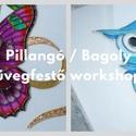 Pillangó / Bagoly Üvegfestő workshop - nov.17., Tanfolyamok, táborok, Üvegművészet, Festett tárgyak, festészet, Az üvegfestés egy igazi stresszoldó, alkotó-meditáció, különleges kikapcsolódás, ráadásul a mandala..., Alkotók boltja