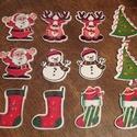 Karácsonyi vegyes gombcsomag 6x2 - 12 db (20 Ft/db), Dekorációs kellékek, Gomb, Mindenmás, Varrás, Gomb, Karácsonyi formájú és mintájú vidám fagombok. Ünnepi dekorálásra tökéletes mind Mikulásra, mind Kar..., Alkotók boltja