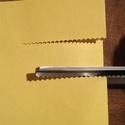 Hullám vágó olló - 3 mm - 2990 Ft, Szerszámok, eszközök, Vágóeszköz, kézi, Alkotók boltja