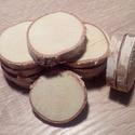 fakorong nyír, Díszíthető tárgyak, Famegmunkálás, Fakorong átmérője 3 - 6 cm, vastagsága 7 mm. egy csomag 12 db korongot tartalmaz. A nyír gyorsan nö..., Alkotók boltja