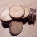 fakorong berkenye, Díszíthető tárgyak, Famegmunkálás, Fakorong átmérője 3 és 5 cm közötti, vastagsága 7 mm. egy csomag 12 db korongot tartalmaz. Vöröses-..., Alkotók boltja